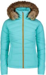 Women's blue winter jacket PUCKER