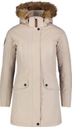 Béžový dámský zimní kabát PROFUSE