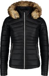 Černá dámská péřová bunda DECOY - NBWJL6938