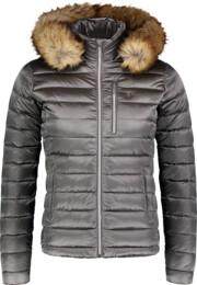 Women's grey down jacket SWAY