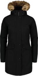 Černý dámský péřový kabát GELID - NBWJL6941
