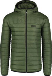 Jachetă matlasată verde pentru bărbați LEASH