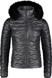 Šedá dámská zimní bunda COLLATE