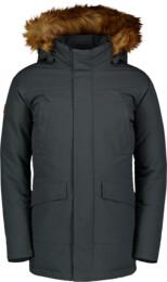Šedý dětský zimní kabát WHOOP - NBWJK6946L