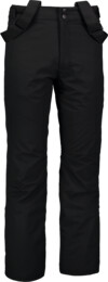 Men's black ski pants ARID