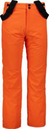 Oranžové pánské lyžařské kalhoty ARID