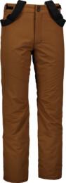 Men's brown ski pants ARID