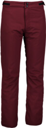 Men's wine red ski pants PARCH