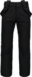 Černé dětské lyžařské kalhoty VALLIANT