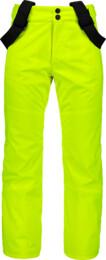 Žluté dětské lyžařské kalhoty VALLIANT - NBWPK6960S
