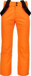 Oranžové detské lyžiarske nohavice VALLIANT - NBWPK6960S