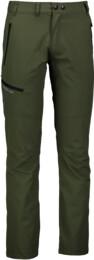 Zelené pánské nepromokavé outdoorové kalhoty RELIEF