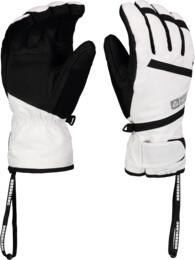 Bílé lyžařské rukavice TRULY - NBWG5976