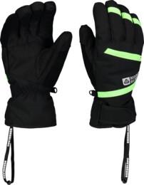 Černé lyžařské rukavice TRULY - NBWG5976