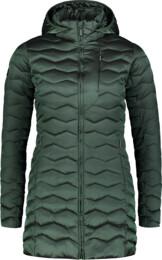 Zöld női télikabát SHRIVEL