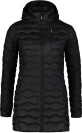 Černý dámský zimní kabát SHRIVEL