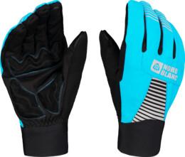Blue softshell gloves GRAB - NBWG6361
