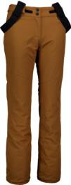Hnědé dámské lyžařské kalhoty GROWN