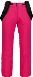 Růžové dětské lyžařské kalhoty PLUCKY - NBWPK6961S