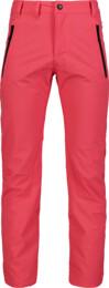 Ružové detské nepremokavé outdoorové nohavice AMENITY - NBFPK7014L