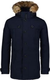 Modrý pánsky páperový kabát STUD - NBWJM6919