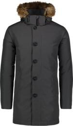 Šedý pánsky páperový kabát RELY - NBWJM6920