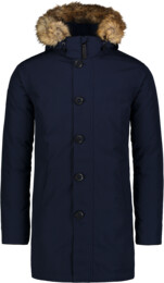 Modrý pánsky páperový kabát RELY - NBWJM6920