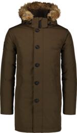 Zelený pánsky páperový kabát RELY - NBWJM6920