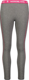 Women's grey all-year baselayer pants CONCEDE