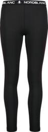 Černé dámské zimní termo kalhoty CONFIDE - NBBLD7099