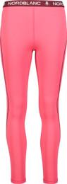 Růžové dámské zimní termo kalhoty CONFIDE - NBBLD7099