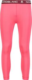 Růžové dětské zimní termo kalhoty HEW - NBBKD7105L