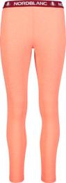 Červené detské celoročné termo nohavice  EPIC