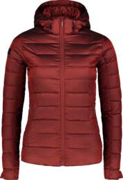 Červená dámská péřová bunda BLESS