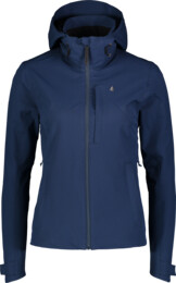 Women's blue outdoor jacket COPE - NBSJL7119
