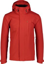 Červená pánská outdoorová bunda DURABLE