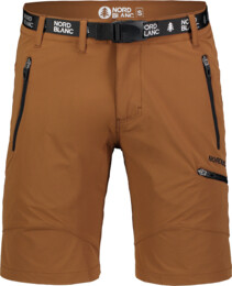 Men's brown outdoor shorts SALVAGE - NBSPM7122