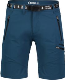 Modré pánské outdoorové kraťasy SALVAGE - NBSPM7122