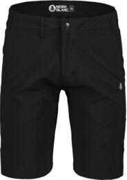 Černé pánské ultralehké outdoorové kraťasy REFUTE - NBSPM7129
