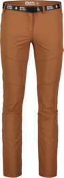 Women's brown outdoor pants LIABLE - NBSPL7130