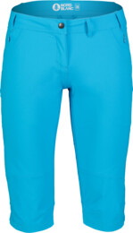 Women's blue outdoor shorts VENERATE - NBSPL7135