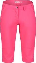 Ružové dámske outdoorové kraťasy VENERATE