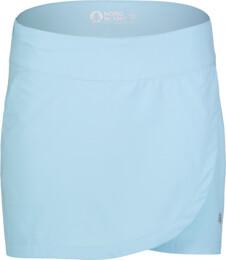 Modrá dámská outdoorová šortko-sukně WARRANTY - NBSSL7138
