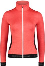 Women's red double face jacket REGARD