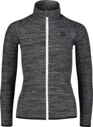 Women's grey purple light fleece jacket FLATTEN - NBSFL7157