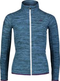 Women's blue purple light fleece jacket FLATTEN - NBSFL7157