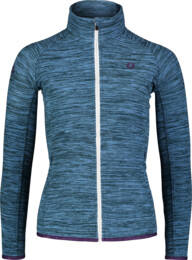 Modrá dámska ľahká fleecová mikina FLATTEN