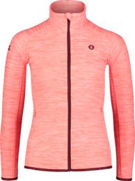 Narancssárga női fleece melegítőfelső FLATTEN