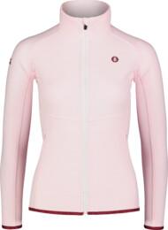 Ružová dámska ľahká fleecová mikina FLATTEN - NBSFL7157