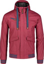 Piros férfi könnyű tavaszi dzeki/kabát PARTAKE
